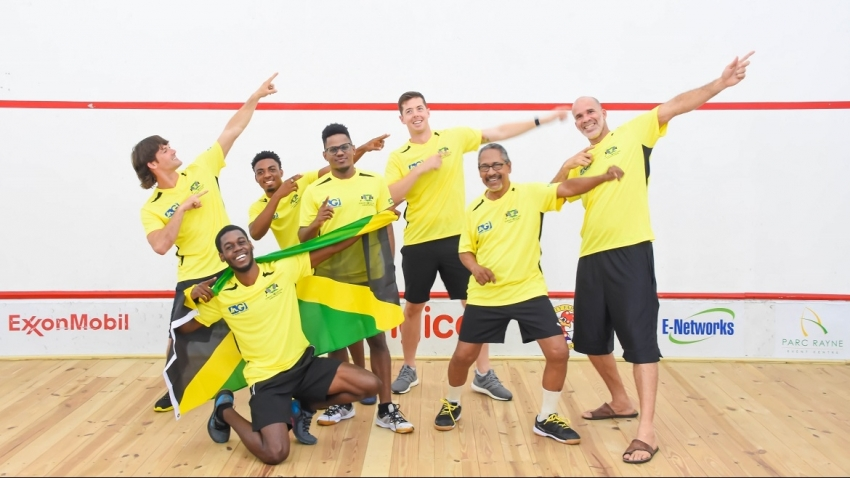 Jamaica settles for silver in the Caribbean squash team title