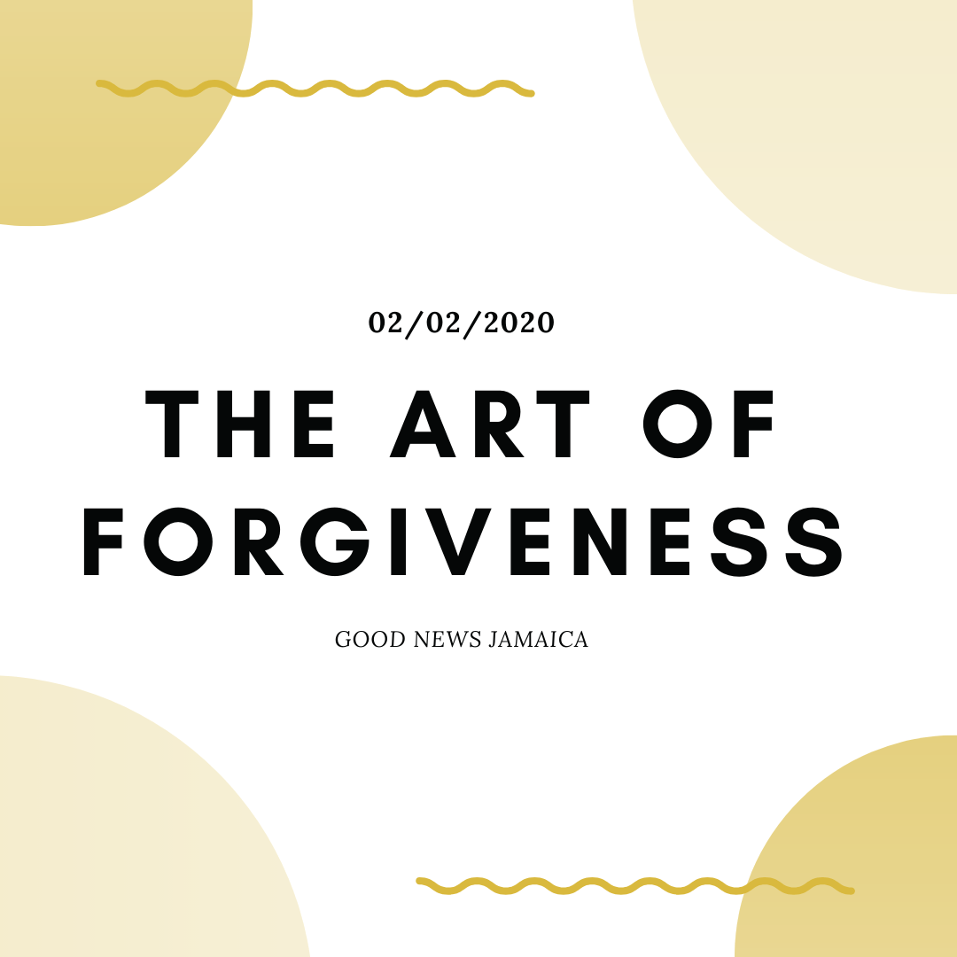 The Beneficial Art of Forgiveness