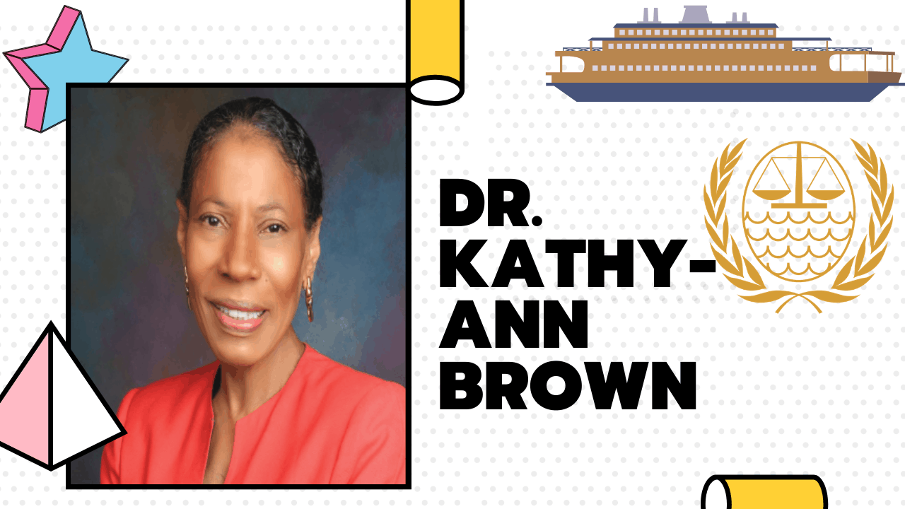 Indomitable Dr. Kathy-Ann Brown Selected As A Judge Of The Sea