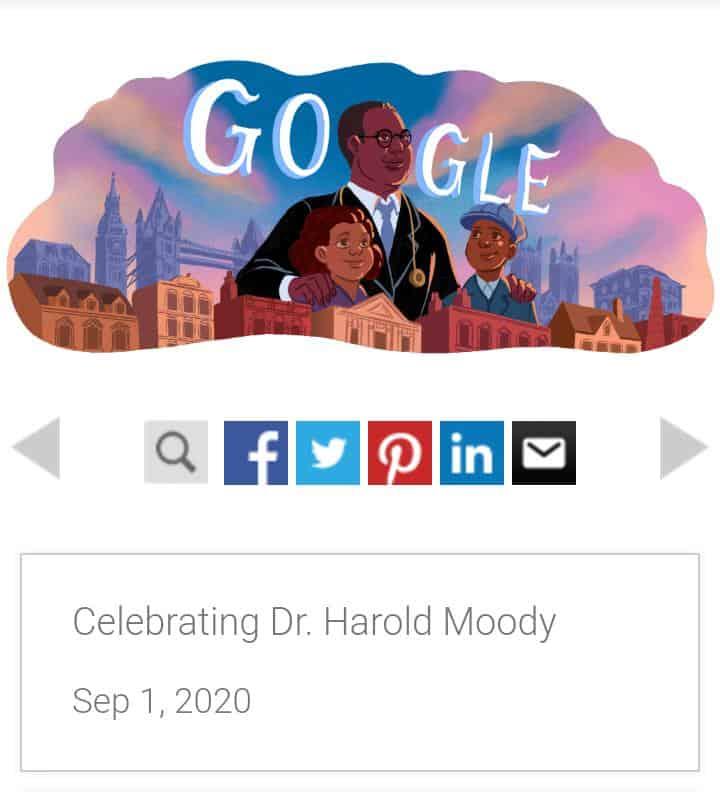 Harold Moody – Jamaican Born Physician