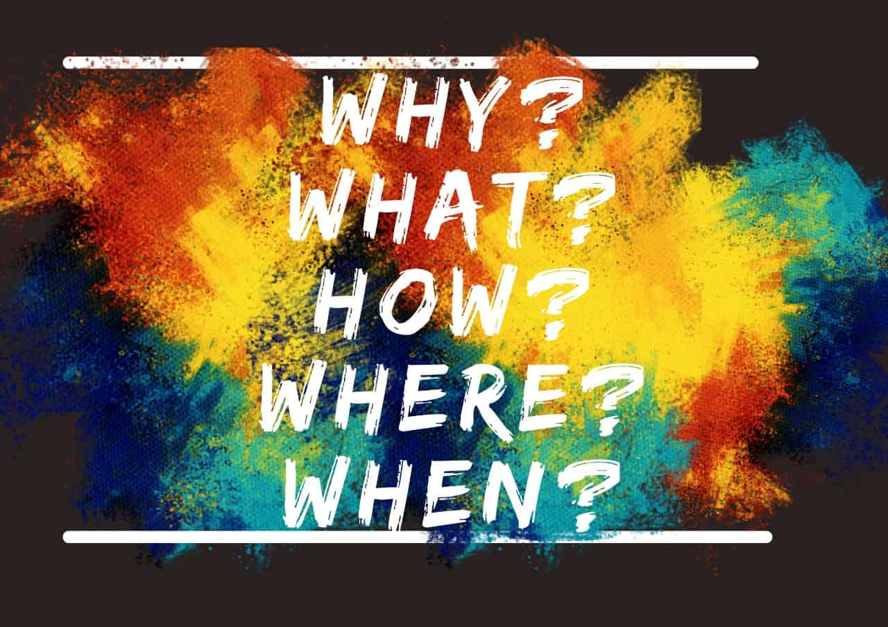 Just A Thought: The Importance of 'WHY'