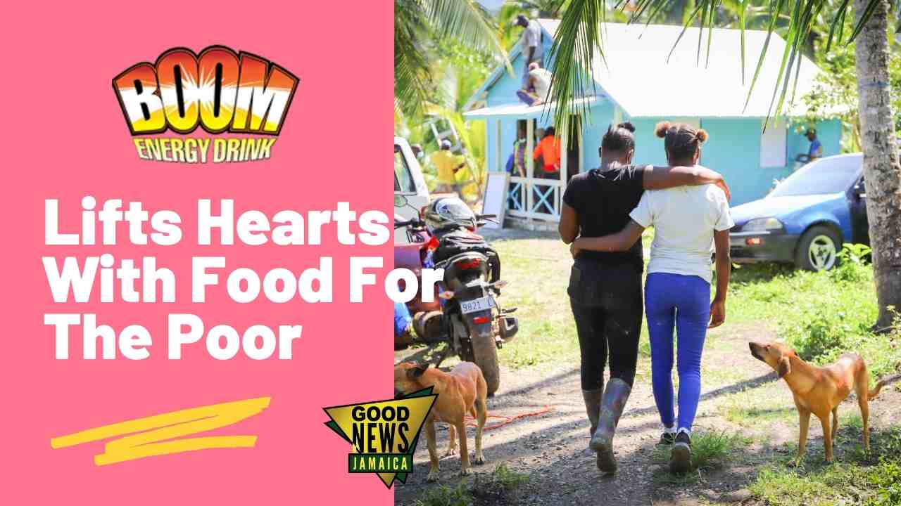 BOOM Energy Drink Supports Food For the Poor