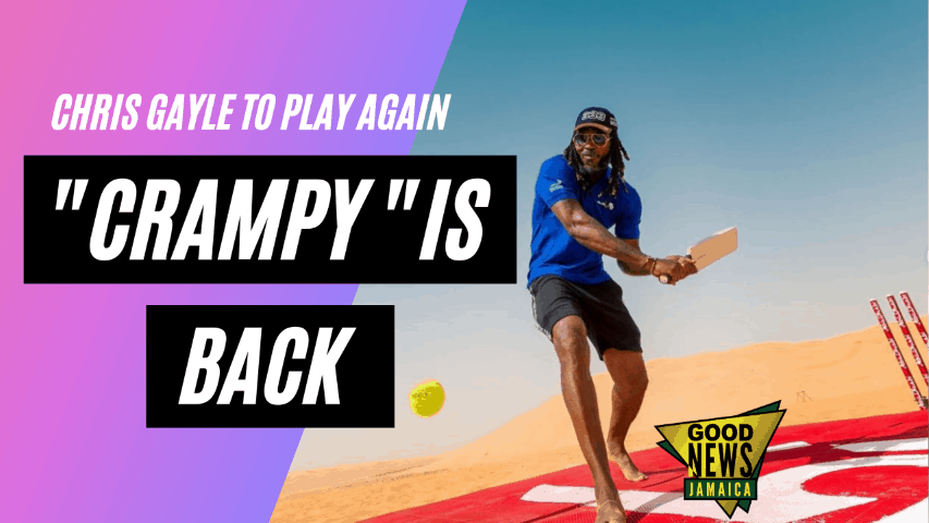 'Crampy' Gayle Is Cranking Up Again For West Indies Cricket