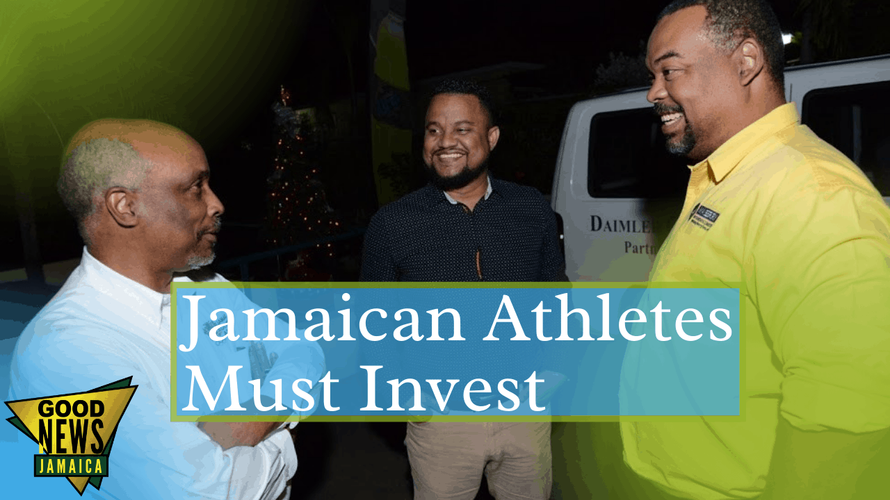 Mayberry CEO advises Jamaica's athletes to invest in a retirement plan