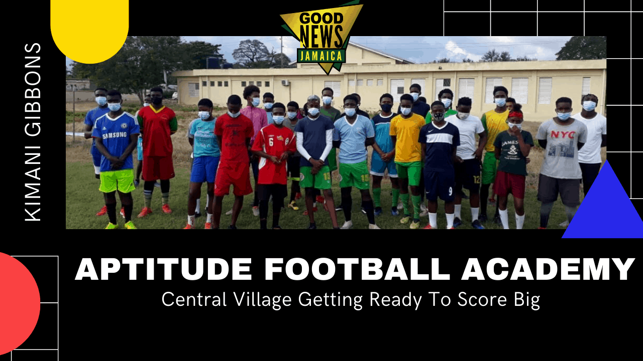 Kimani Gibbons Shapes Lives With Aptitude Football Academy in Central Village