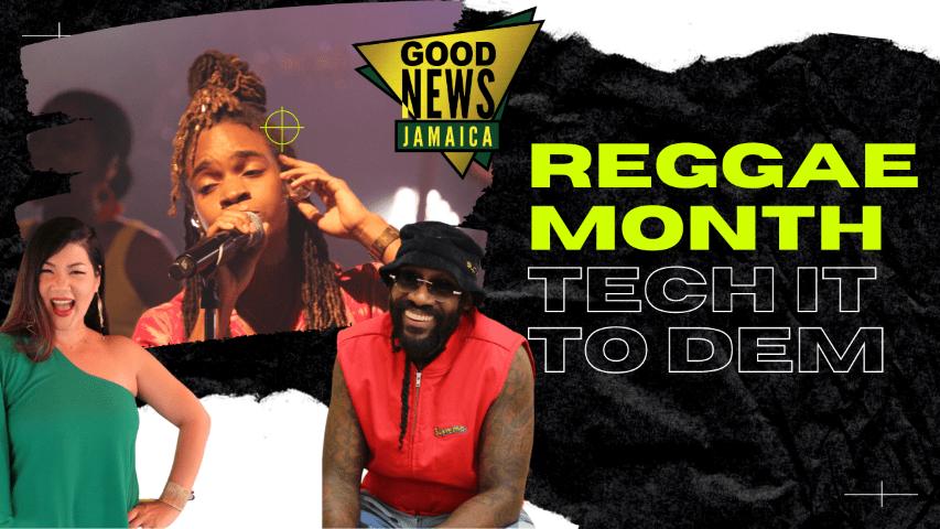 Virtual Reggae Month Brand 'Tech It to Dem'