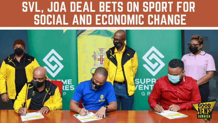 SVL, JOA Deal Bets on Sport for Social and Economic Change