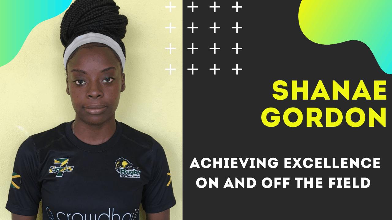 Shanae Gordon Achieving Academic Excellence under JOA Scholarship
