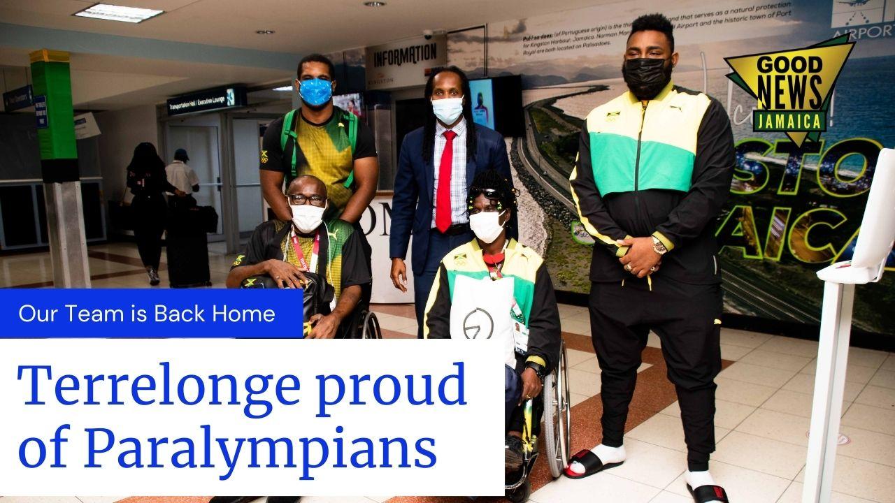 Terrelonge proud of Paralympic Team